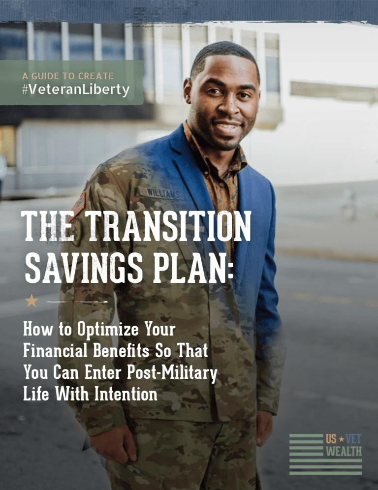 Transition Savings Plan eBook Cover